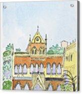 David Sasson Library Mumbai Acrylic Print