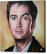 David Tennant Acrylic Print