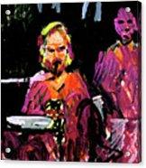 David Wingo On Stage Acrylic Print