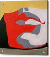 Davids Chin Acrylic Print