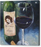 Davinci Chianti For One   Acrylic Print