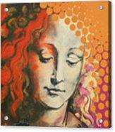 Davinci's Head Acrylic Print