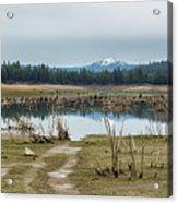 Davis Creek And Maiden Peak Acrylic Print
