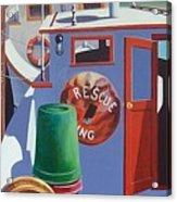 Davis Creek Boats Acrylic Print
