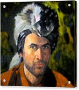 Davy Crockett Acrylic Print