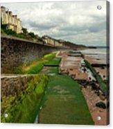 Dawlish Sea Wall Acrylic Print