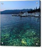 Dawn Arrives At Lake Tahoe  Acrylic Print