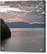 Dawn At Casa De Mundo Lake Atitlan 1 Acrylic Print