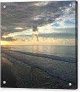 Dawn At Folly Beach Acrylic Print