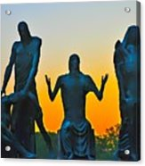 Dawn At Last Acrylic Print
