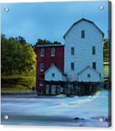 Dawn At Phelps Mill Acrylic Print