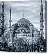 Dawn At The Blue Mosque Acrylic Print