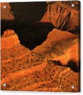 Dawn At The Grand Canyon Acrylic Print