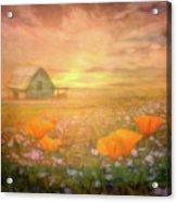 Dawn Blessings On The Farm Acrylic Print