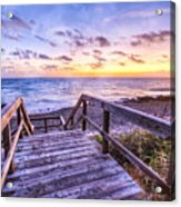 Dawn Colors Acrylic Print