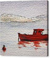 Dawn Fishing Acrylic Print