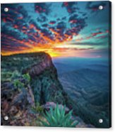 Dawn In The Chisos Acrylic Print
