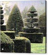 Dawn In A Topiary Garden   Acrylic Print