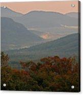 Dawn In The White Mountains Acrylic Print