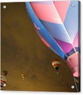 Dawn Launch Balloon Fiestas Albuquerque New Mexico  Acrylic Print