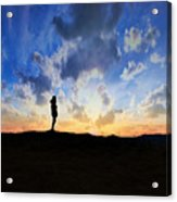 Dawn Of A New Day Sunrise 140a Acrylic Print