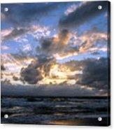 Dawn Of A New Day Treasure Coast Florida Seascape Sunrise 138 Acrylic Print