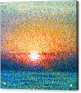 Dawn On A Caspian Sea Acrylic Print