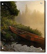 Dawn On Boot Lake Acrylic Print