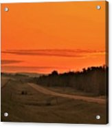 Dawn On Highway 61 Acrylic Print