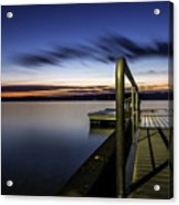 Dawn On Skaneateles Lake Acrylic Print