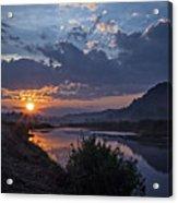 Dawn On The Hocking Acrylic Print