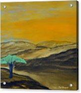 Dawn On The Savannah Acrylic Print