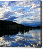 Dawn Over Big Sky Acrylic Print