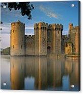 Dawn Over Bodiam Castle Acrylic Print