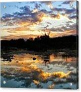 Dawn Over Boerne Creek Acrylic Print