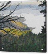 Dawn Over Eagle Nest Lake Acrylic Print
