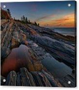 Dawn Over Pemaquid Point Acrylic Print