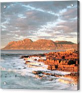 Dawn Over Simons Town South Africa Acrylic Print