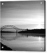 Dawn Over The Cape Cod Canal Acrylic Print