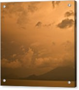 Dawn Over The Volcano 3 Acrylic Print