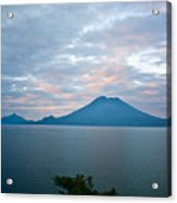 Dawn Over The Volcano 4 Acrylic Print