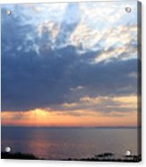 Dawn Sun Rays Acrylic Print