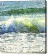 Dawn Wave Acrylic Print
