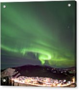 Dawson City Lights Acrylic Print