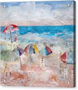 Day At The Beach Acrylic Print