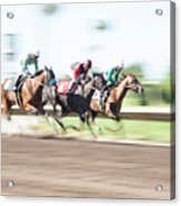 Day At The Races Acrylic Print