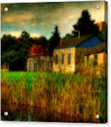 Day Is Done Acrylic Print by Lois Bryan