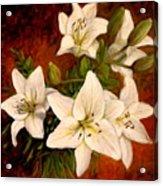 Day Lilies Acrylic Print