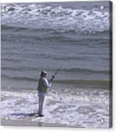 Day Of Ocean Fishing Acrylic Print