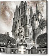 Day Of The Dead Alter Acrylic Print